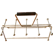 SOLD Culver Rack Caddy For Tumblers Vintage Barware For Valencia Mid Century