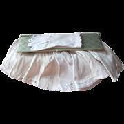 White Gloves In Satin Box Vintage All Short White Embellished