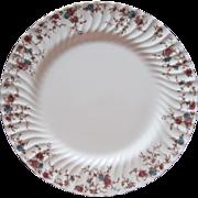 Minton Ancestral Platter Vintage Round 15 Inch Chop England