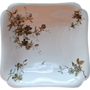 Haviland Limoges Square Serving Bowl Antique French China