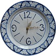 Dedham Rabbits China Clock Vintage The Potting Shed