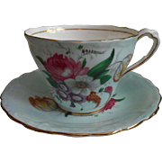 Paragon Cup Plus Odd 5 O'clock Saucer Vintage Bone China