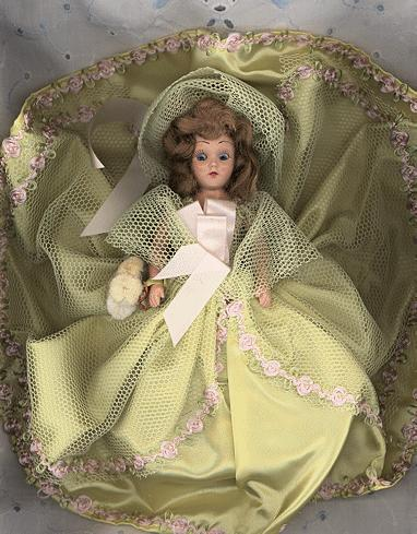 "Hard Plastic ""Dolls of All Nations""  ""Dutch Girl"" in Original Box"