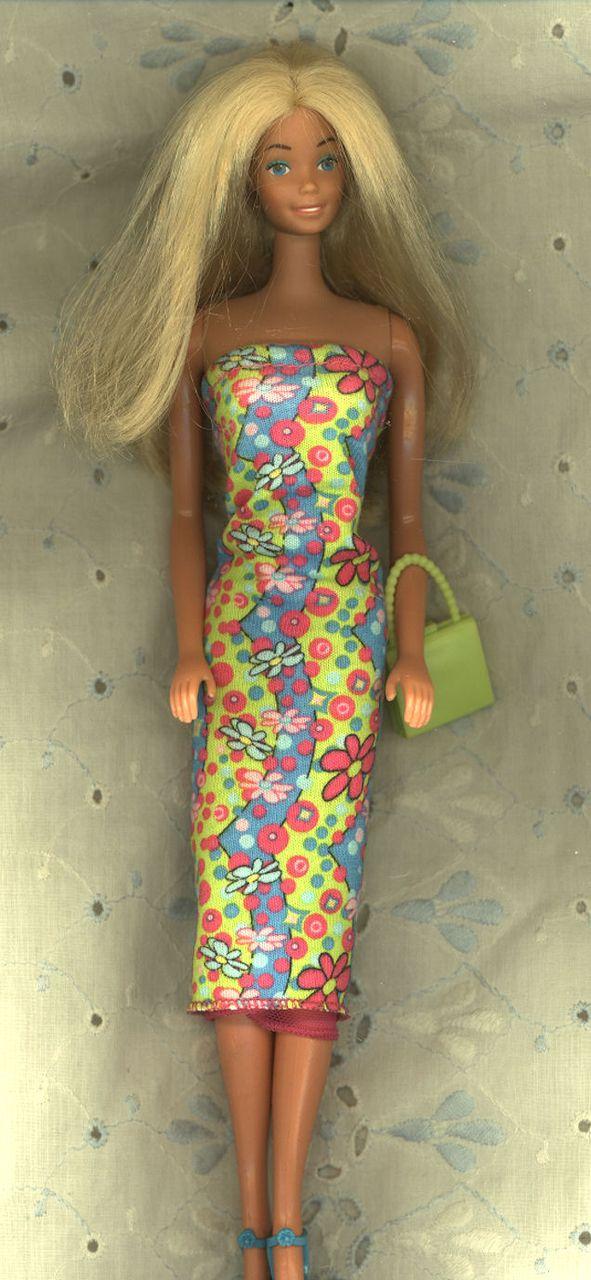 Vintage Sunsational Malibu Barbie