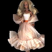 SOLD Vintage  Peaches and Cream  Barbie in Original Clothes