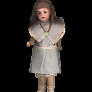 SOLD Antique Bisque  Recknagel Girl in Original Dress