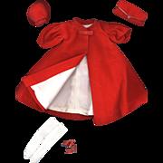 SOLD Vintage Barbie Fashion  Red Flare
