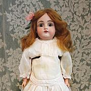 SALE Antique Bisque Kestner  154  in Antique Dress