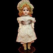 SOLD Antique Bisque Herm Steiner Doll in Original Dress