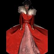 SOLD Vintage Brunette Ponytail Barbie in Fabulous Fashion Dress