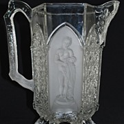 "Antique: Pattern Glass: ""Classic"" Water Pitcher"