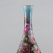 Hand Painted Porcelain Rosenthal Bud Vase, Bavarian, Vintage