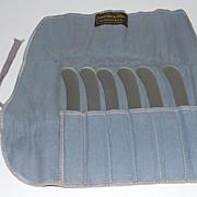 Sterling Silver Butter Knives (6), Gorham, Vintage