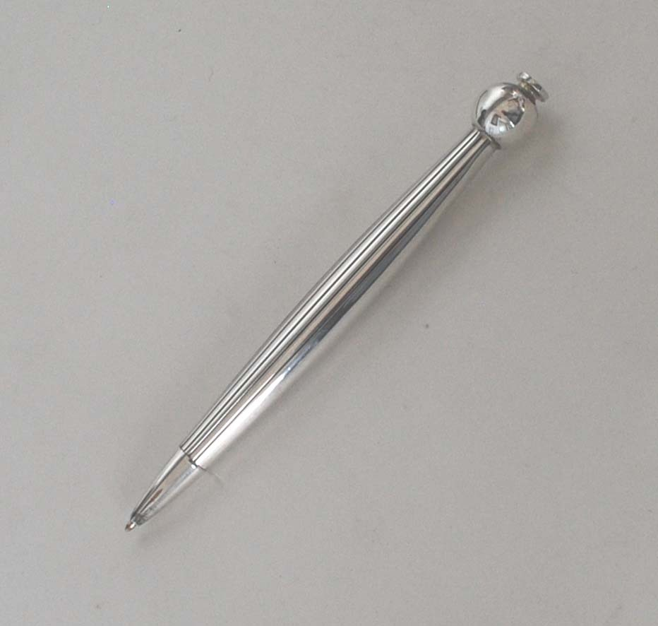 Vintage Sterling Silver Ball Point Pen, Towle