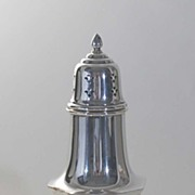 Vintage Sterling Silver Muffineer, Reed & Barton