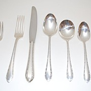Sterling Silver Flatware Service, Empire Crafts, Corp., Oneida, Vintage