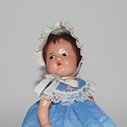 "Composition Madame Alexander ""Quint"" Toddler Doll, Vintage"