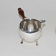 Moss Sterling Silver 3 Piece Set, Creamer-Sugar-Warm Milk, Vintage