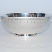 """Sterling Silver Fruit Bowl, """"Frank Whiting & Co."""", Vintage"""
