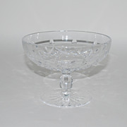 Waterford Crystal Compote, Signed, Vintage
