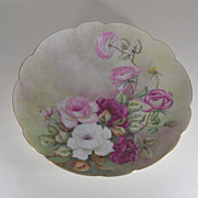 Antique Limoge Charger, Porcelain