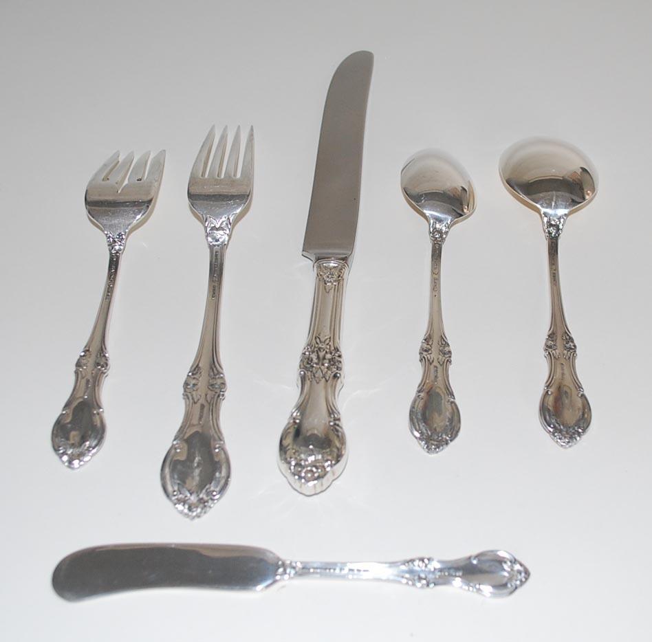 Sterling Silver Flatware Service, International Silver