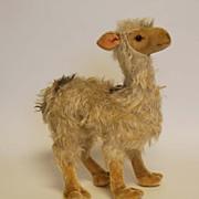 Vintage Steiff Llama