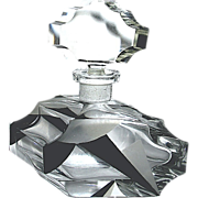 SOLD 50% Off Gorgeous Czech Art Deco Perfume Bottle