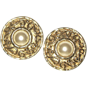 SALE Gorgeous Edouard Ramboud Paris Designer Earrings