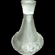 SALE French Art Nouveau Era Art Glass Perfume Bottle