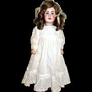 SOLD A/O Simon Halbig 1009 Doll w Jumeau Shoes