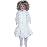 """SOLD Gorgeous Large Armand Marseille Bisque """"370"""" Doll--Sale and Free Shipping"""