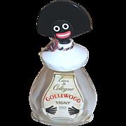 SOLD Vigny Golliwogg Eau de Cologne in Figural Bottle, with Bakelite Face