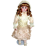 "SALE Simon Halbig 1080 ""Dainty Dorothy"" Doll—Stunning Costume"