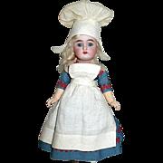 "SOLD Rare 8 1/2"" K*R Simon Halbig All Original Bisque Head Dutch Girl Doll"