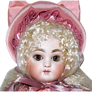SOLD Heavenly Artist Doll Made in the French Tete Jumeau Bluette Manner--OOAK