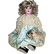 """Exquisite ABG """"Sweet Nell"""" Doll in Beautiful Vintage Dress--free shipping"""