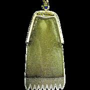 SALE Napier Fine Soldered Mesh Purse w Ornate Frame and Wristlet