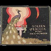 Golden Peacock Tonic Face Powder Box Nice Graphics