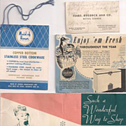 Group of Vintage Sears, Roebuck and Co. Related Paper Items