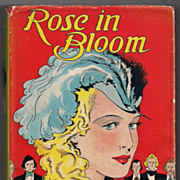 SOLD 'Rose in Bloom' hard back Book - Red Tag Sale Item