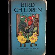 Bird Children the Little Playmates of the Flower Children Hard Back Book