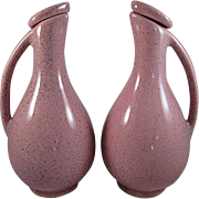 MCM Pottery Cruets Probably for Oil & Vinegar