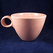 Vernon Kilns, Metlox 'Tickled Pink' Cup MCM