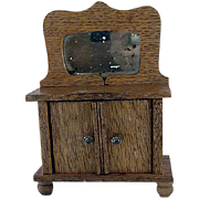 "Star Novelty Works 1-1/4"" Wash Stand c1910 Dollhouse Furniture"