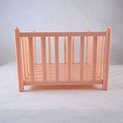 "Ideal Young Decorator 1-1/2"" Playpen Dollhouse Furniture"