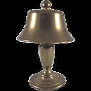 "Brass 1"" Table Lamp Dollhouse Accessory"