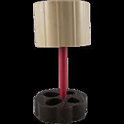"Ardee 3/4"" Plastic Table lamp Dollhouse Accessory"