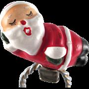 Made in Japan Ceramic Santa Clip Ornament