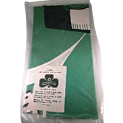Large Made in U.S.A. St. Patrick's Day Figural Clover Diecut with a Hat and 2 Pipes in Origina
